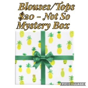 $20 • 10 Piece Tops • Not So Mystery Box